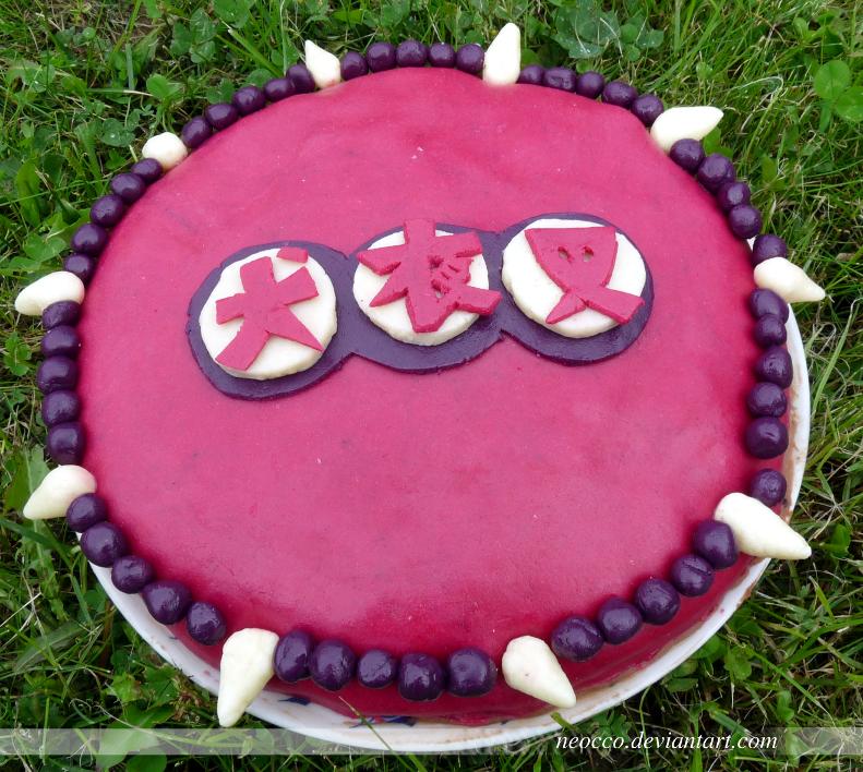 Artifact #8 : Inuyasha Birthday Cake- Literacy As An