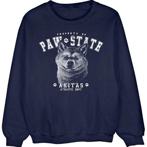 [Sweatshirt] - Akita Paw State