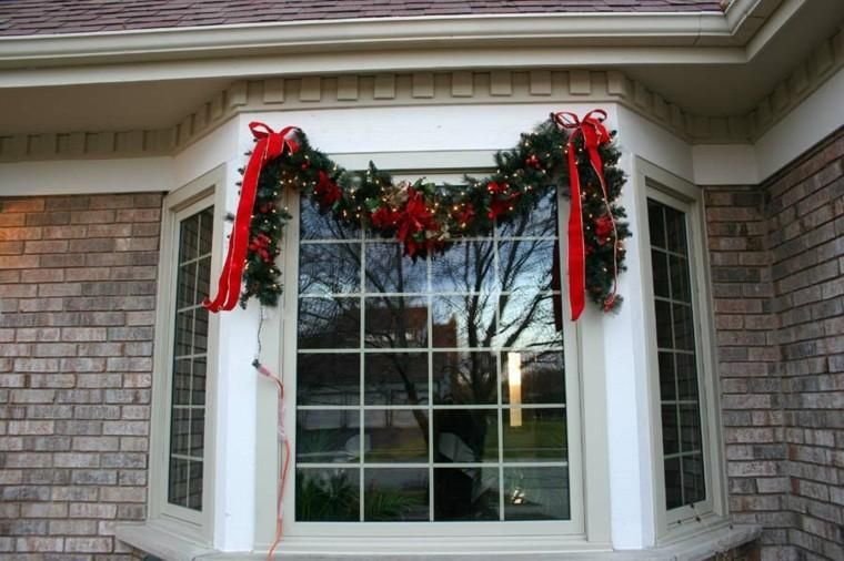 Christmas Decorations Incredible Ideas For Windows Decorationidea Outdoor Christmas Garland Christmas Window Decorations Window Garland Christmas