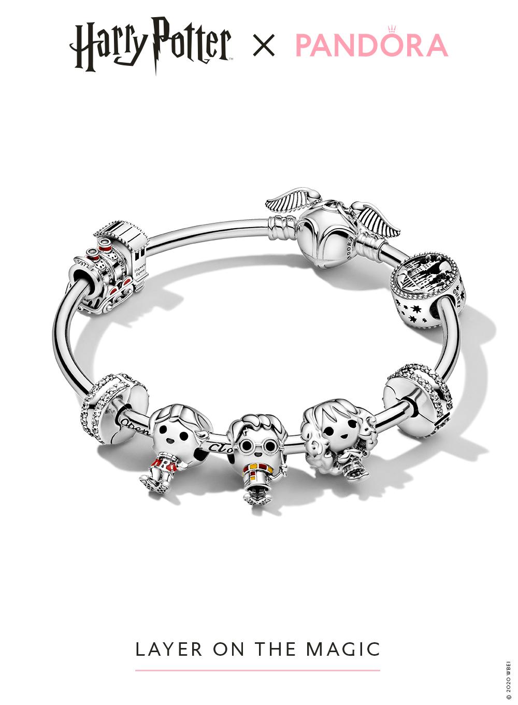 Layer on the magic! | Pandora bracelet designs, Pandora harry ...