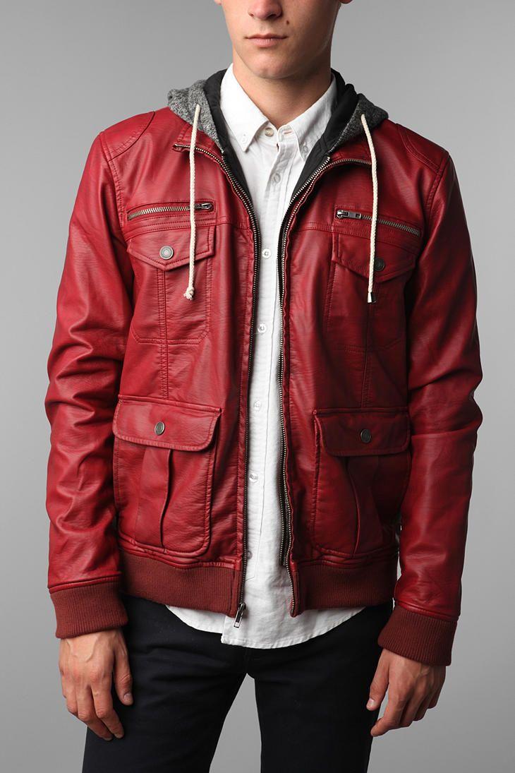 Charles 1 2 Hooded Aviator Jacket Fall Fashion Trends Men Mens Jackets Leather Jacket Men [ 1095 x 730 Pixel ]