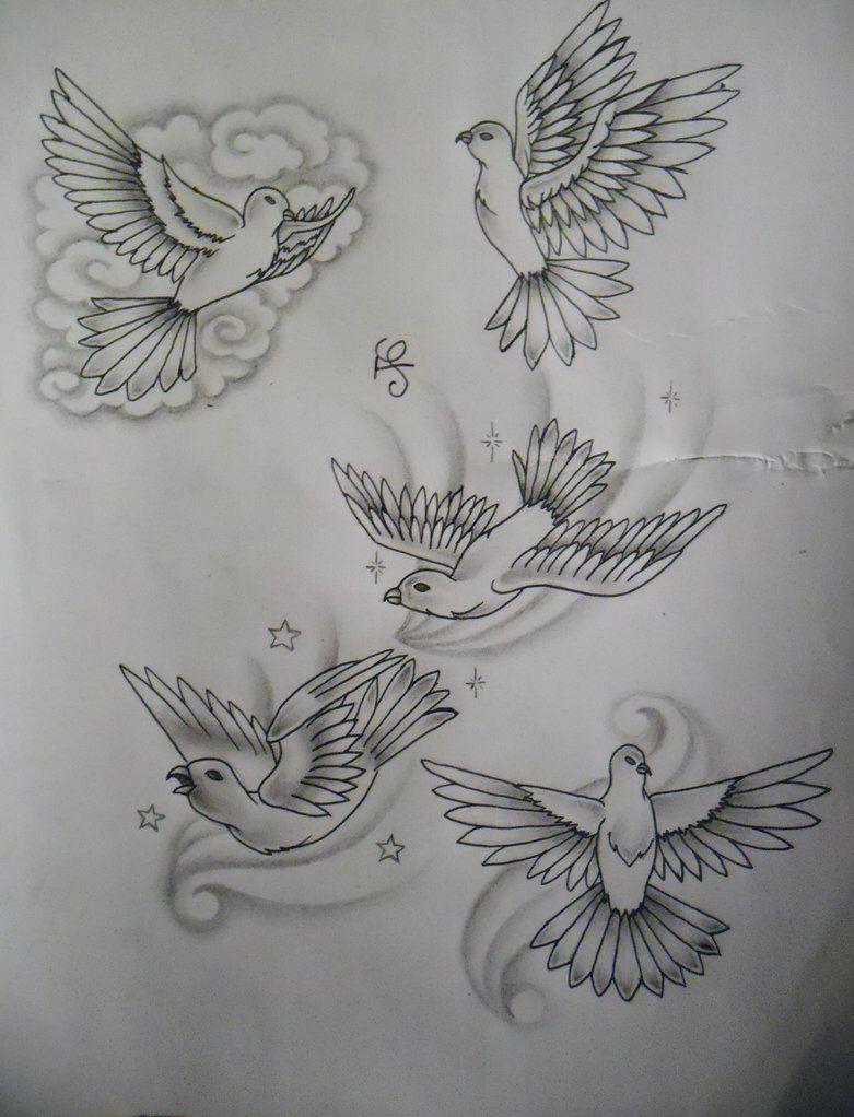 Dove Tattoo Design By Tattoosuzette On Deviantart Drawings