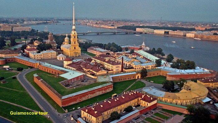 Fortaleza de San Pedro y San Pablo San Petesburgo | San petesburgo ...