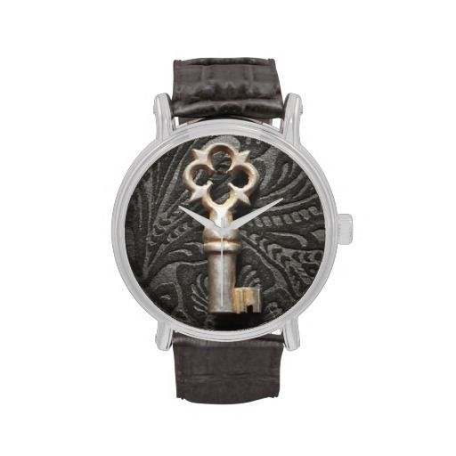 #Unlock #Time #Vintage #Leather #Watch