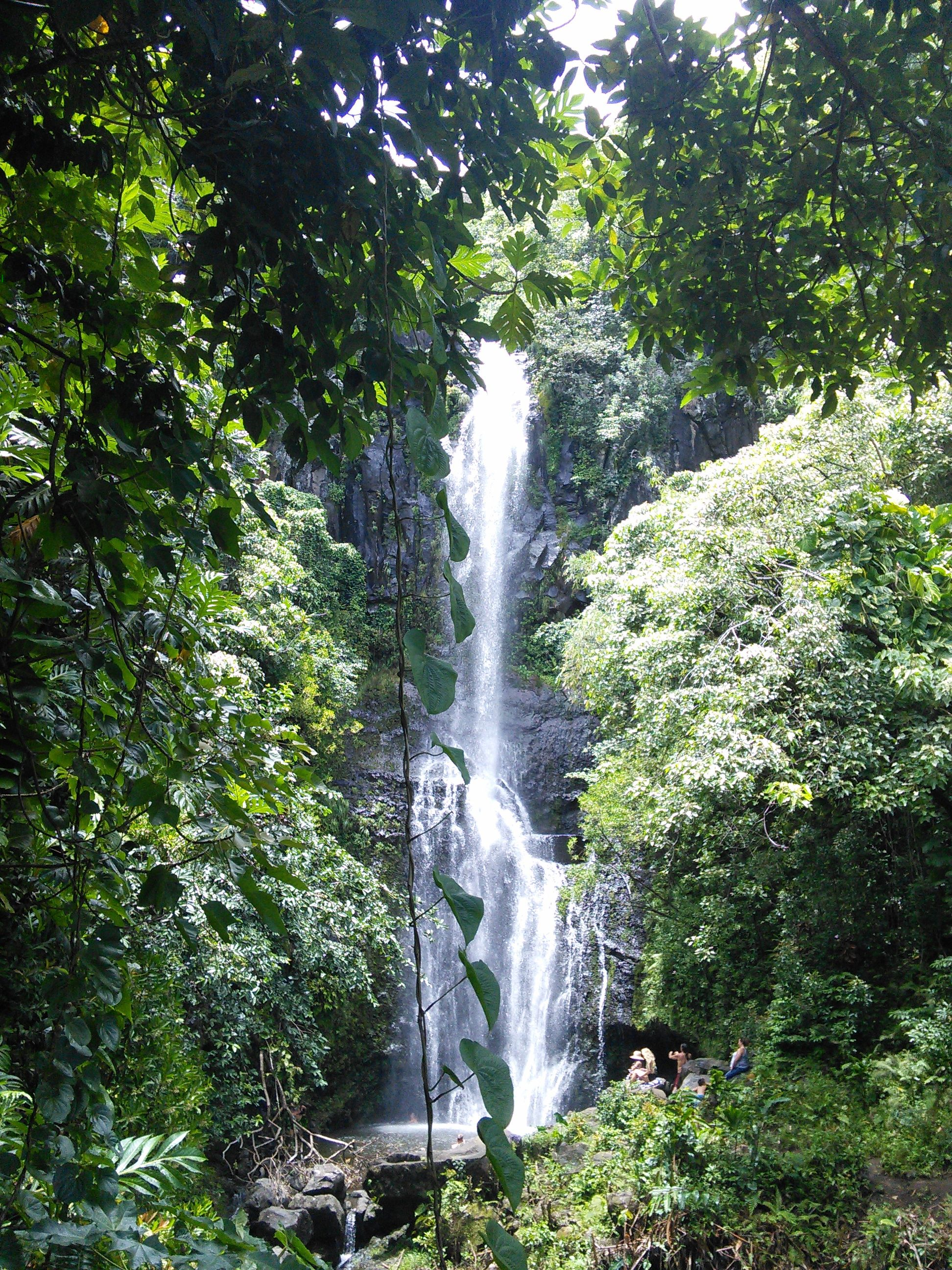 Beautiful Scenery Waterfalls Falling Waters Waterfall