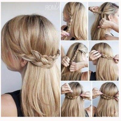 Peinados De Trenzas Faciles Juveniles Paso A Paso Hairstyle Hair