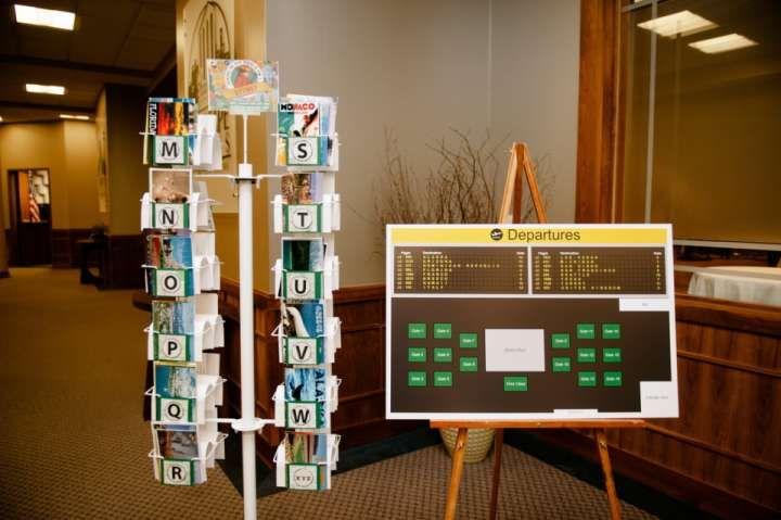 Post Card Rack With 48 Slots 43% Off | Tradesy Weddings