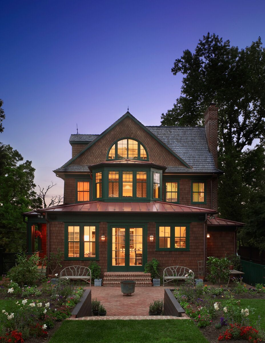 Best Designing A New Shingle Style House With Classic Old Style 400 x 300