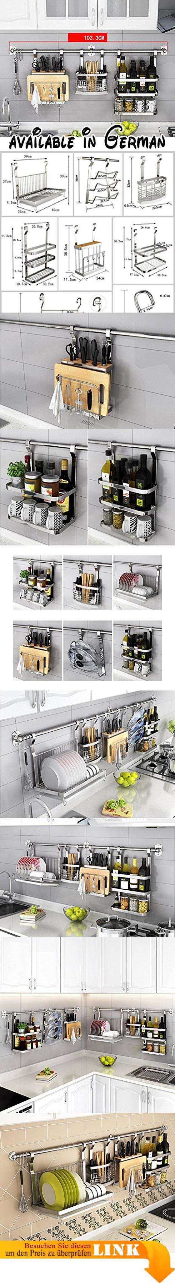 B078TT4CSN : Küche Lagerung und Organisation Spice Racks Besteck ...