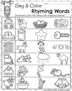 Spring Kindergarten Worksheets | Kindergarten Activities ...