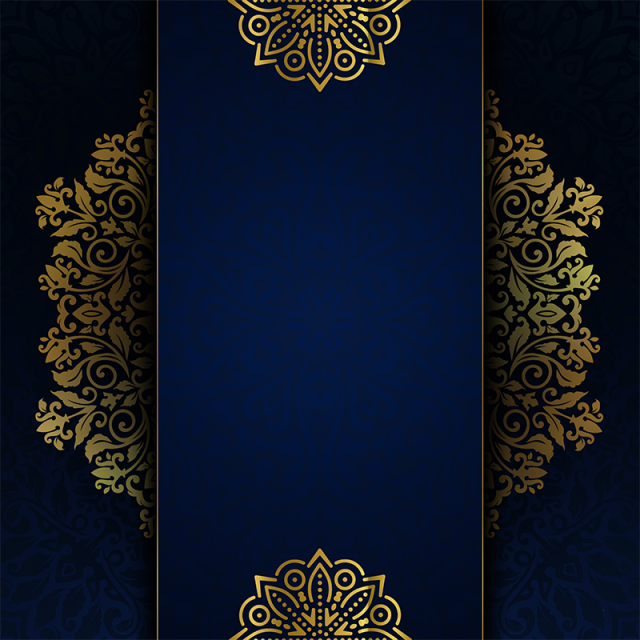 Luxury Background And Invitation Islamic Luxury Golgen