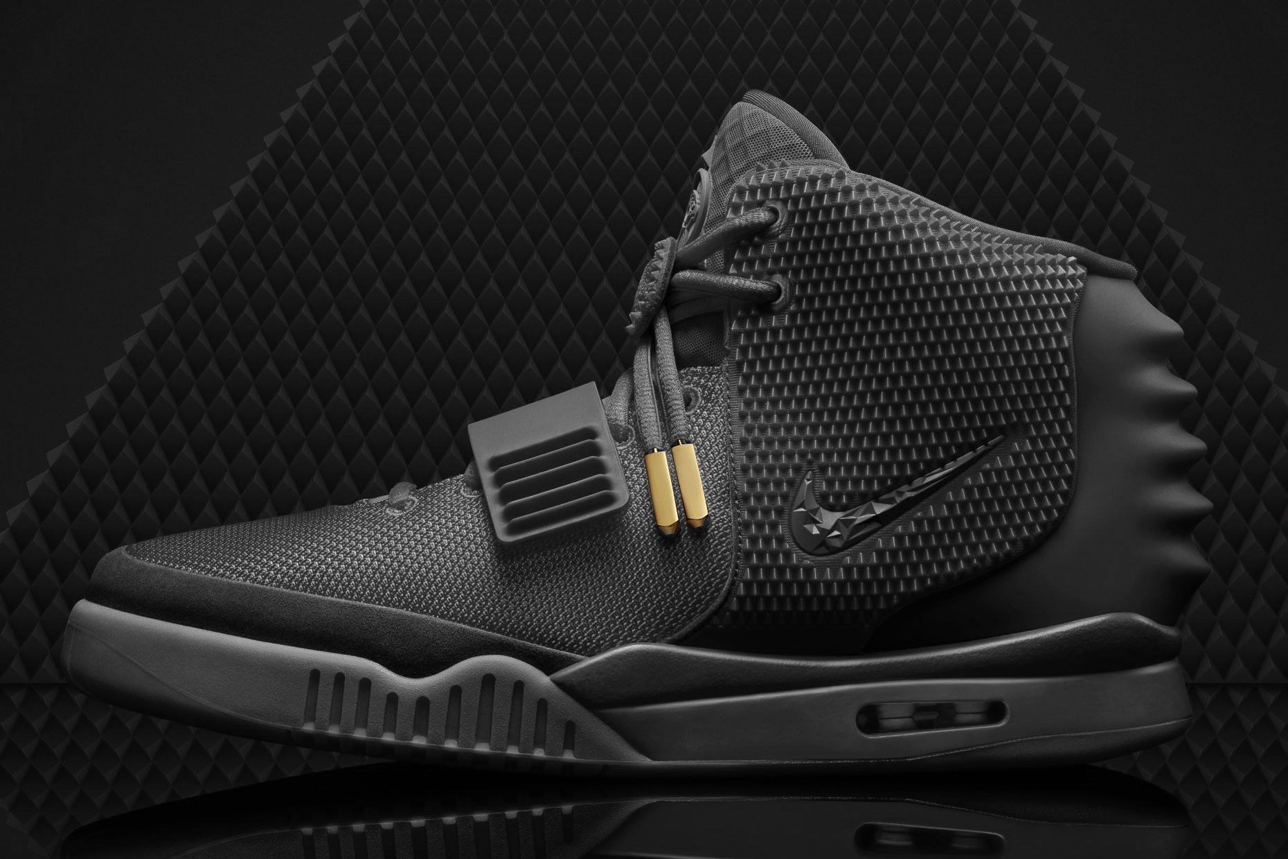 b84db2495 Nike Air Yeezy II Black October Concept