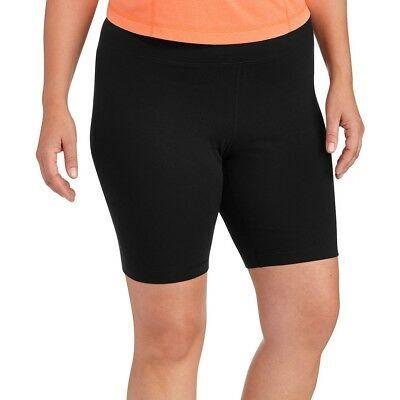 3c78daccb61 Danskin Now Plus Size Bike Shorts Black Soot Size 4X   4XG 26w - 28w New  W O Tag