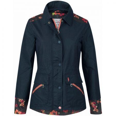 Reit- & Fahrsport-Artikel Jack Murphy Alex Wax Jacket Womens Blue Equestrian Horse Riding Coat Outerwear