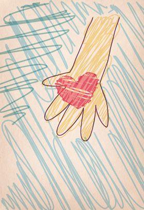 Tarjeta  de agradecimiento para imprimir - Tu Amabilidad Llena Mi Corazón