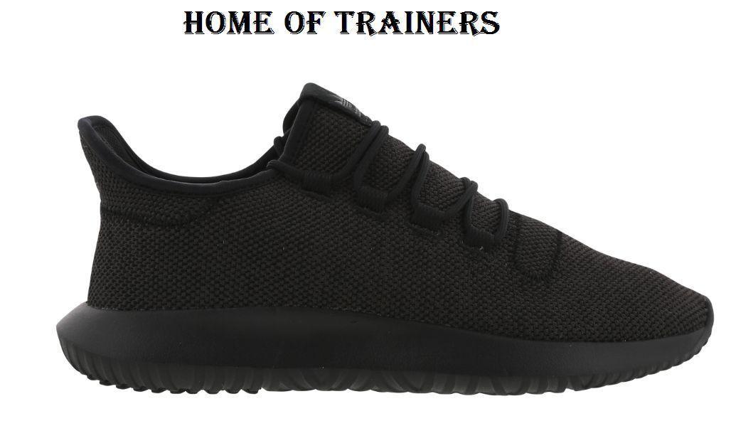 Adidas Tubulare Nucleo Nero Per Gli Uomini Ombra Allenatori Tutte Le Dimensioni