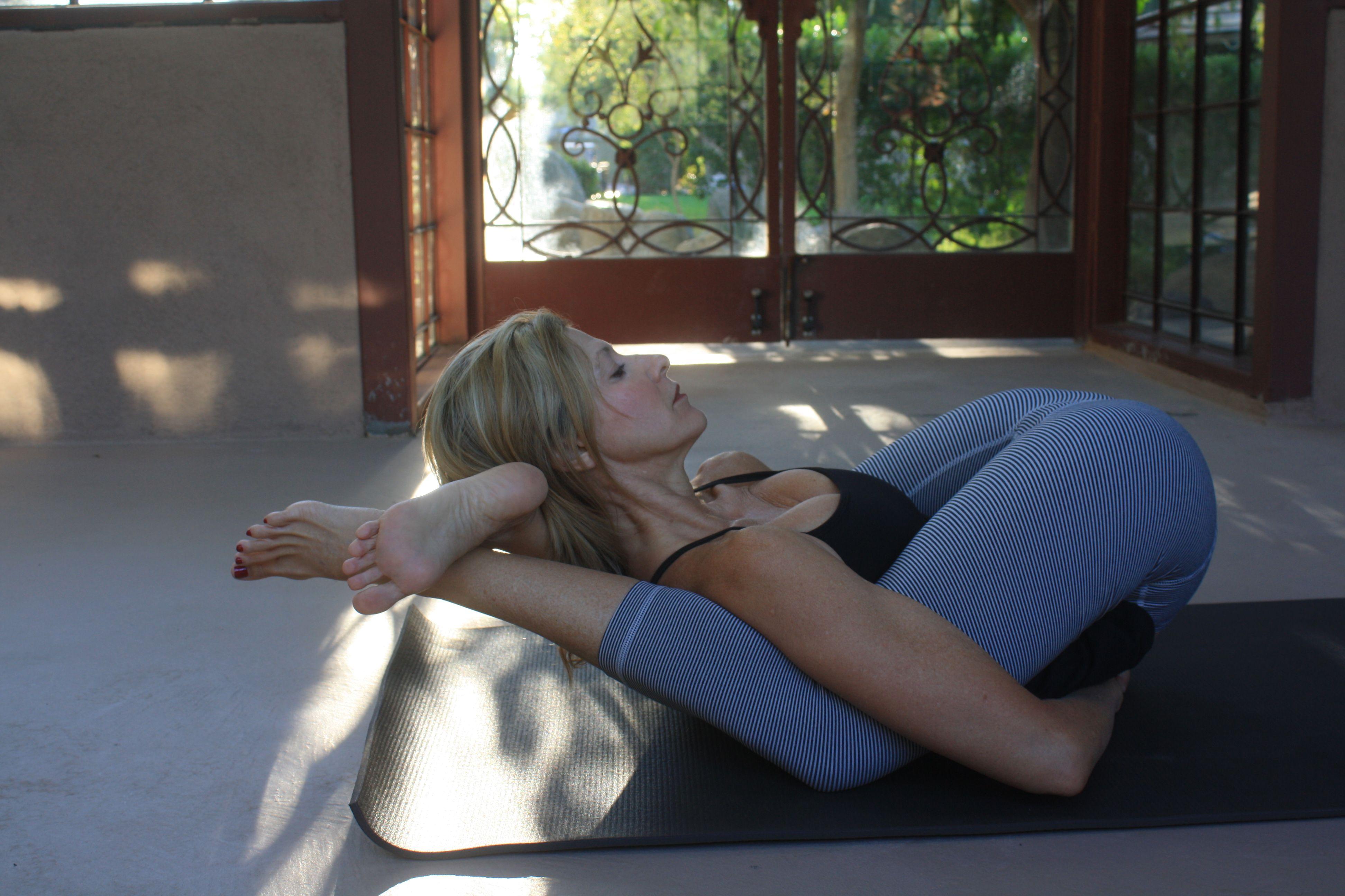 Yoga-Nidrasana pose (Ashtanga 2nd series #16) by Jennifer Miller ...