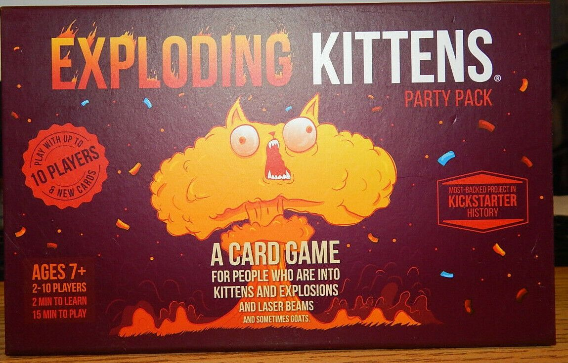 Other Card Games And Poker 2552 Exploding Kittens Card Game Party