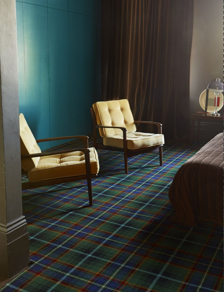 Brintons Abbotsford Maccines 4 5641 Tartan Carpet Bedroom Carpet Stairs Plush Carpet Stair Runner Carpet