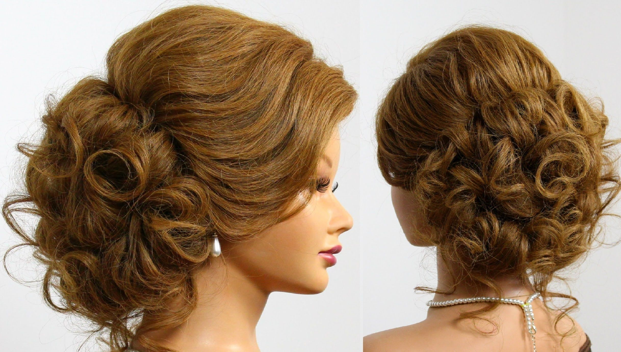 Wedding hairstyles for long hair tutorial prom updo wedding hair