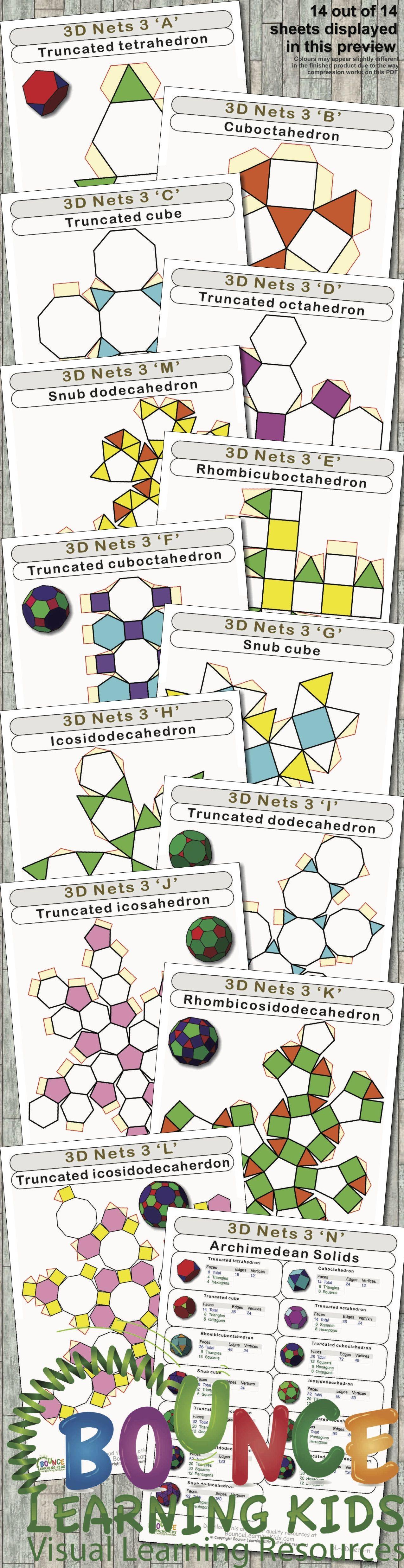 3d Nets 3 14 Hand Eye Coordination Sheets