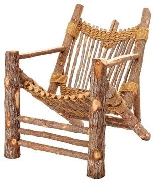 Irie Adirondack - rustic - Armchairs And Accent Chairs - EcoFirstArt