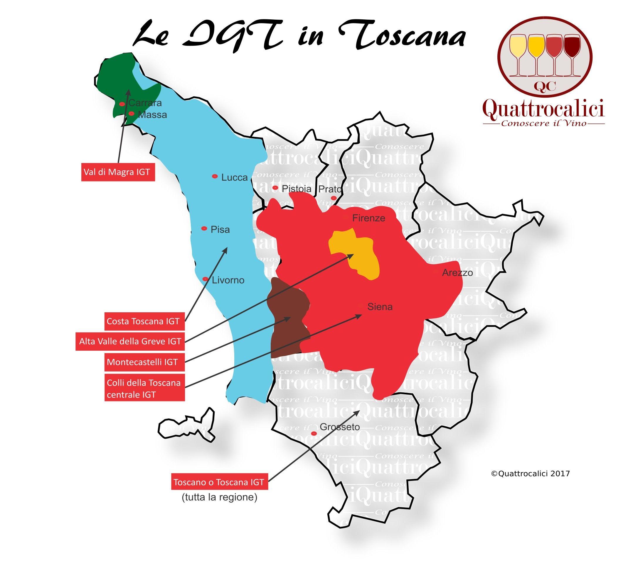 Toscana Quattrocalici La Guida Al Vino E All Enoturismo Bere Vino Tempo Di Vino Vino