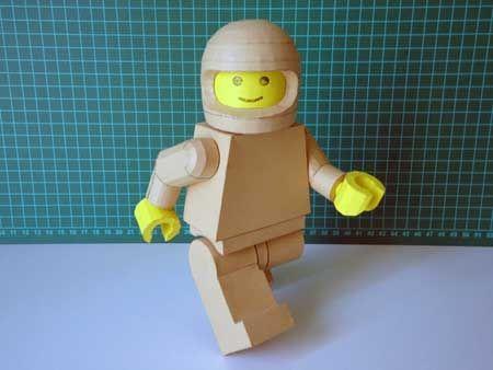 Lego Man Papercraft | paper models | Pinterest | Lego men ...
