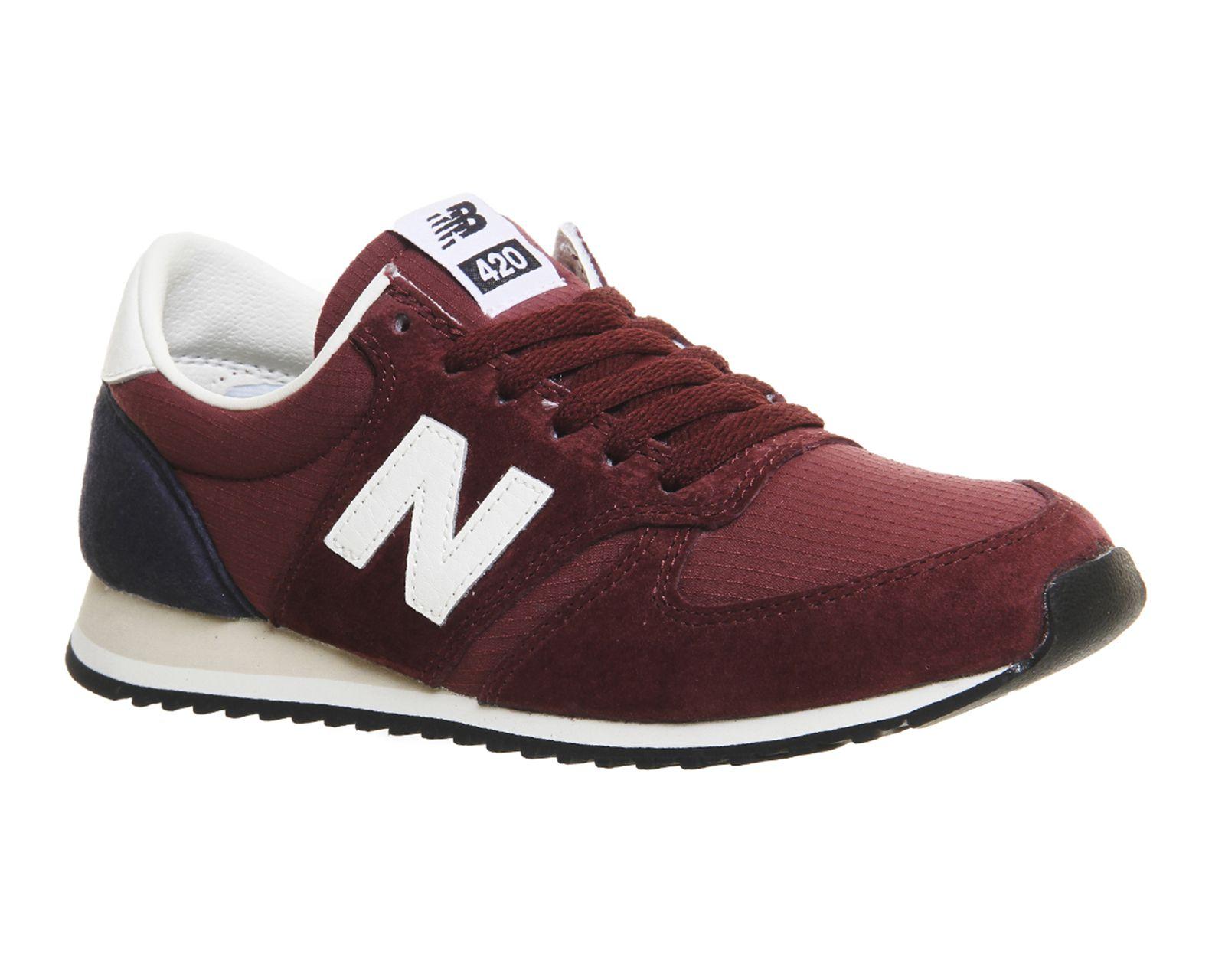 NEW Balance u420 Unisex Sneaker Scarpe Retr Scarpe Da Ginnastica Blu Scuro