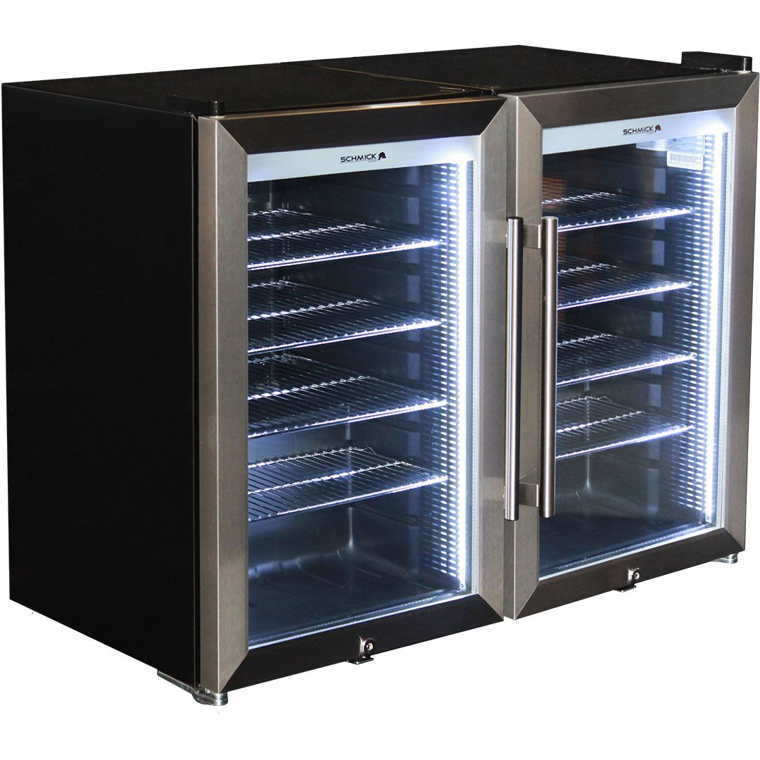 Outdoor Alfresco Bar Fridge Triple Glazed Gl Door And Lock