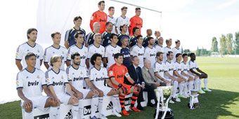 Retrato del Madrid 12-13