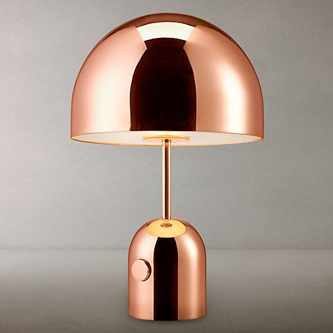 Tom Dixon Bell Table Lamp Copper Table Lamp Lamp Table Lamps Online
