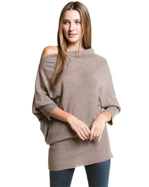 Cullen Oatmeal Cashmere Tunic Sweater | Sweaters | Pinterest ...