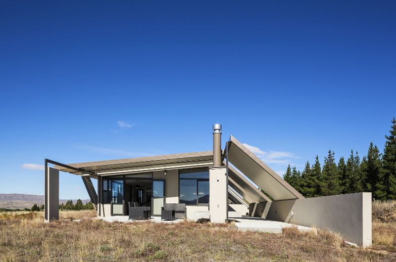 Tent House with Freezer Fly Roof C&y Concrete Interiors & Tent House with Freezer Fly Roof Campy Concrete Interiors ...