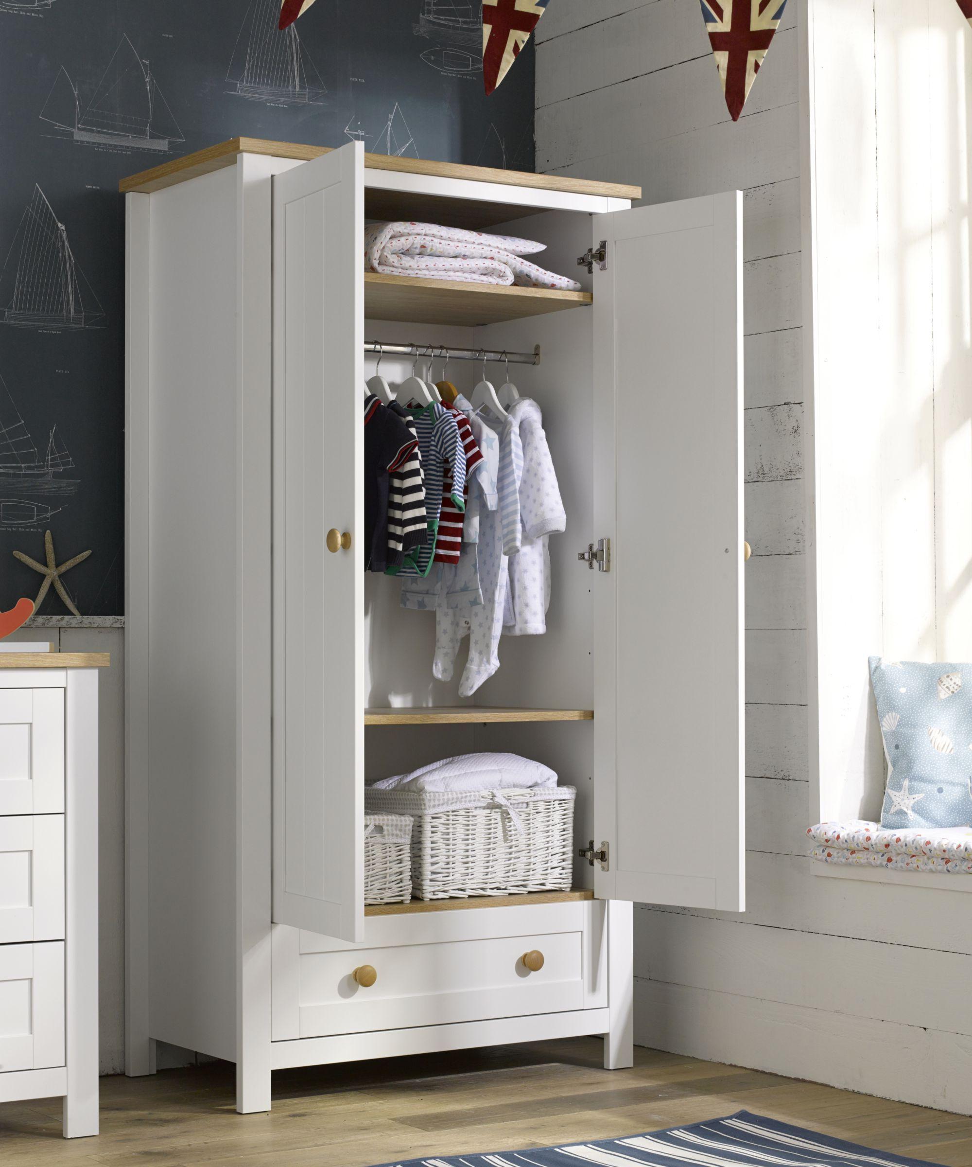Mothercare Lulworth Wardrobe - wardrobes & tallboys - Mothercare
