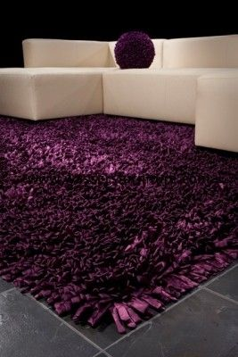 Dreamweavers Orleans Satin Area Rug Purple Rugs In
