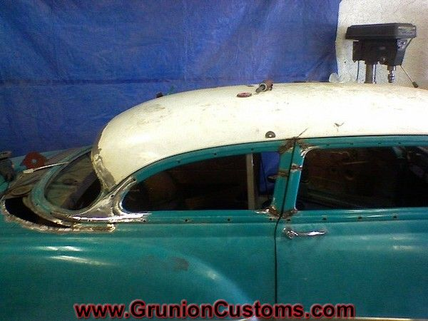 Pin By Clay Stroud On 54 Chevy Chop With Images Custom Cars Metal Shaping Classic Cars