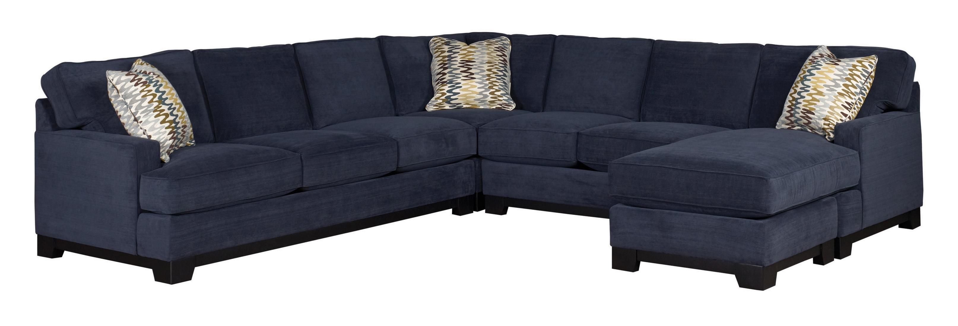 Best Kronos Contemporary 4 Piece Sectional Sofa With Right Arm 400 x 300
