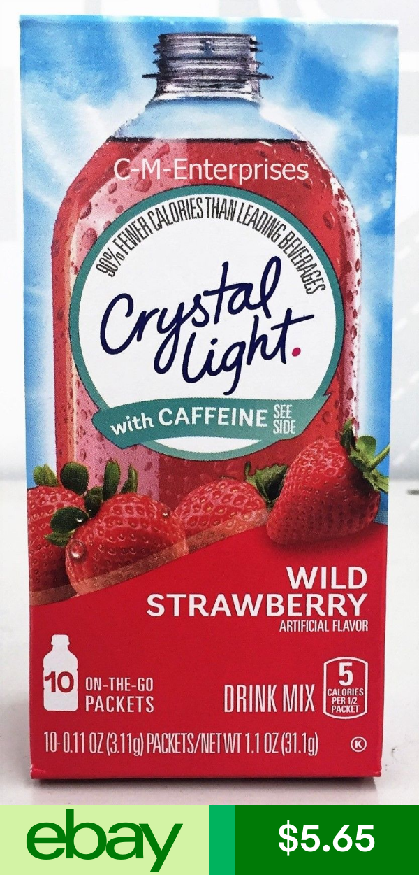Crystal Light Drink Mixes Home Garden Strawberry Drinks Mixed Drinks Wild Strawberries