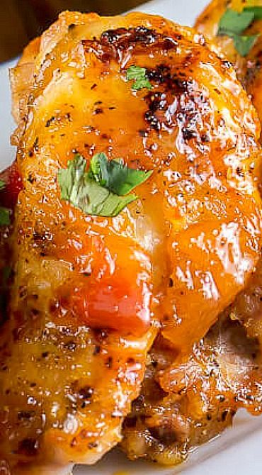Mango Habanero Wings Awesome Appetizers In 2019 Chicken Recipes Chicken Wing Recipes