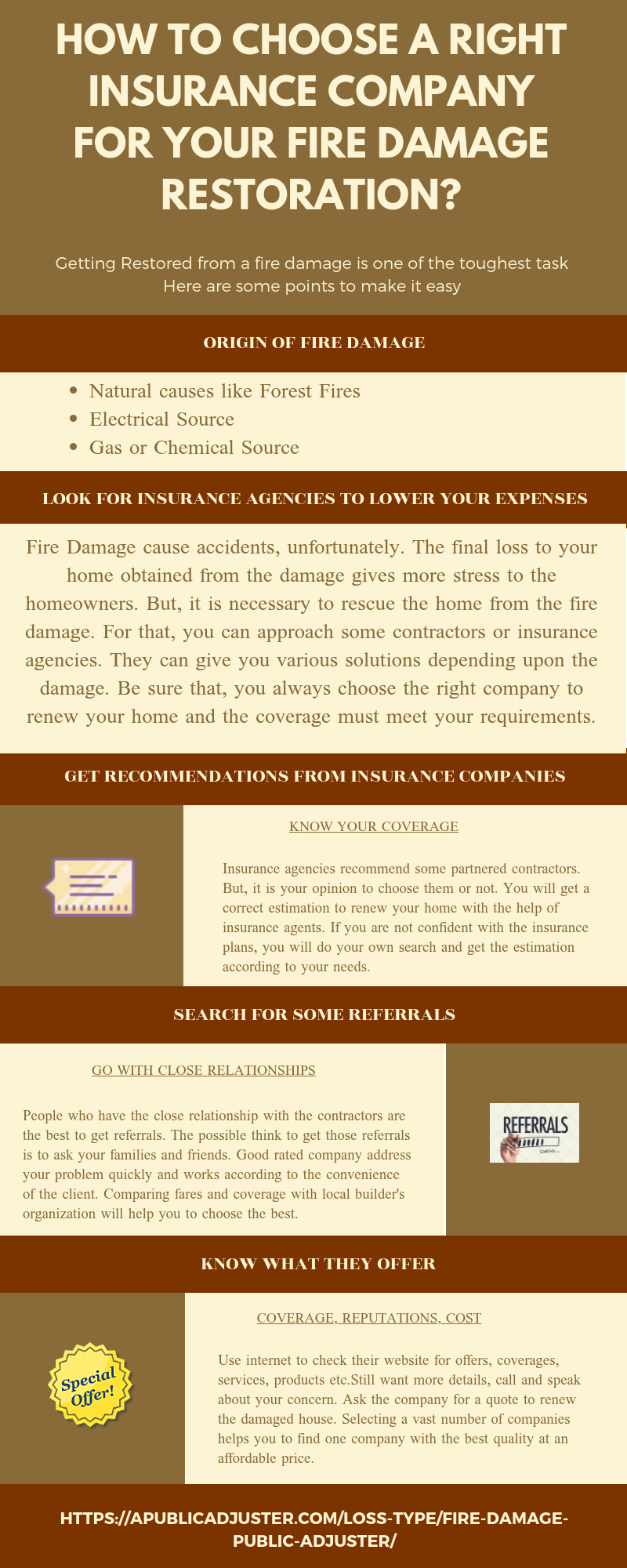 How To Choose A Right Insurance Company For Your Fire Damage