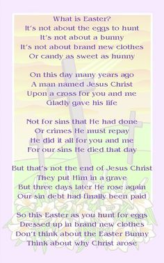 Easter Prayers And Poems 1