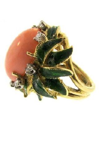 Coral Ring  DK Bressler
