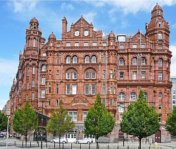 The Midland Is A Palatial Hotel In Manchester England Opened September 1903