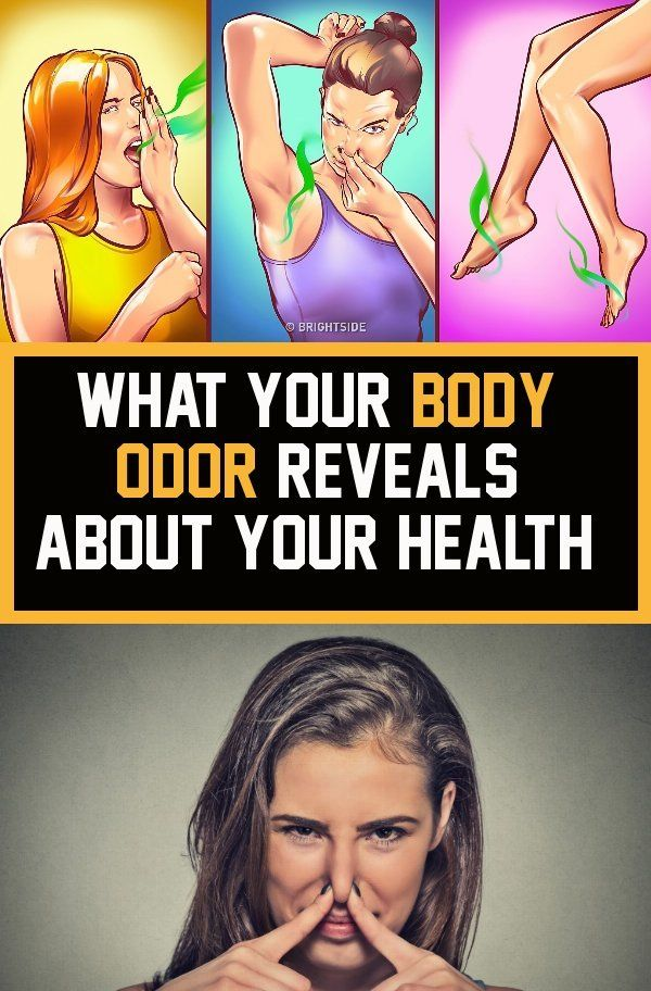 What Your Body Odor Reveals About Your Health !