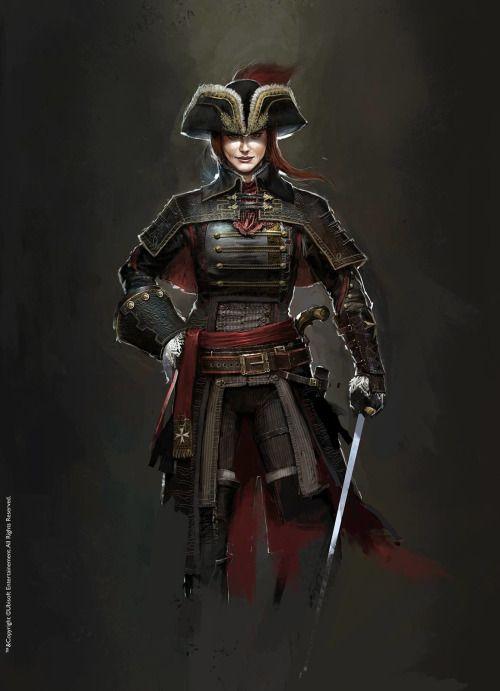 assassins creed unity elise concept art