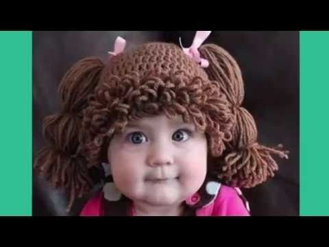 Gorro de coletas para niñas( cabash pash) - YouTube | Beanies ...