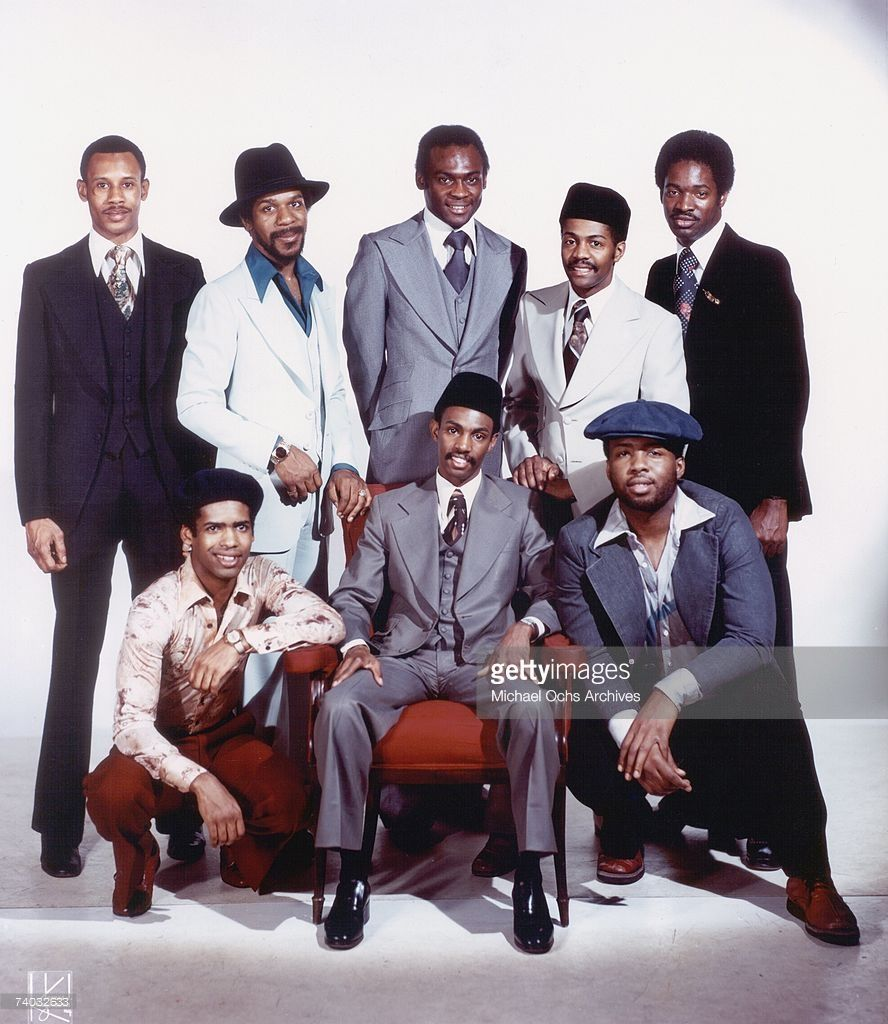 "R&B Group ""Kool & The Gang"" Pose For A Mid 1970's Portrait"