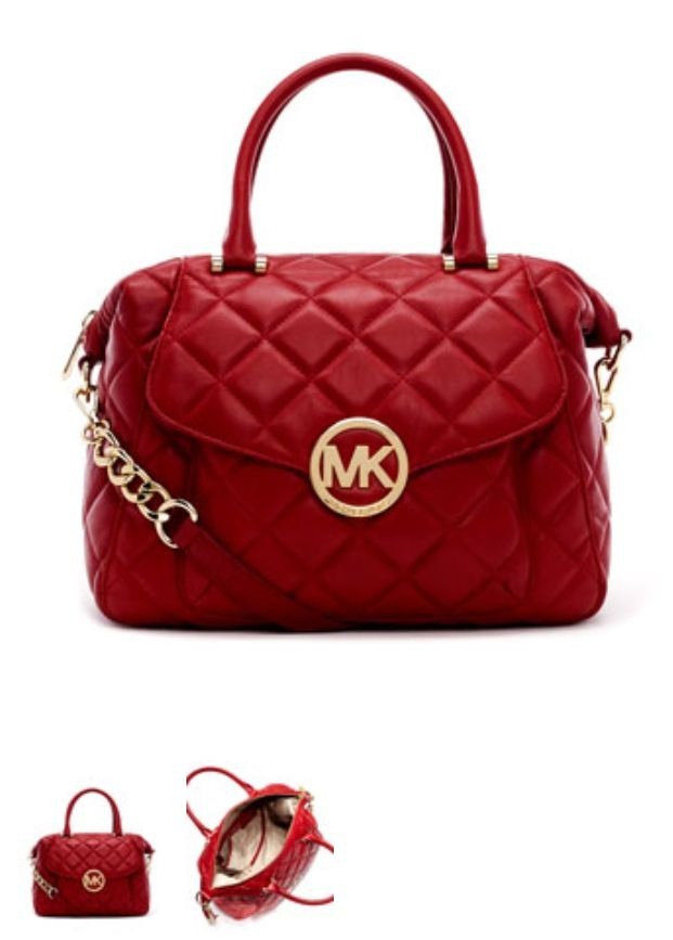 22281aaf4861 womens fendi purses collection clearance hotsaleclan com Red quilted MK bag  that I am insanely attracted to.