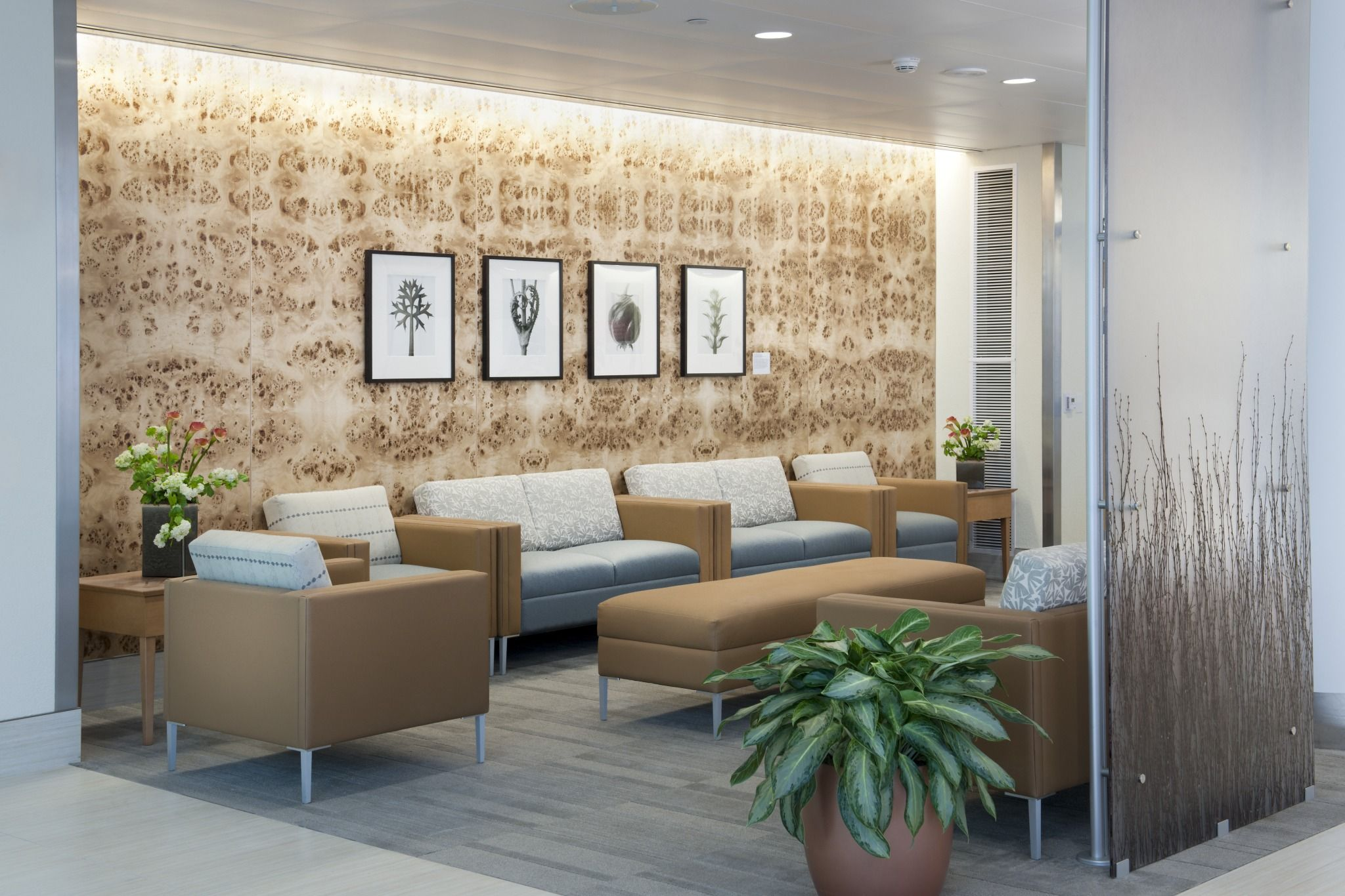 ambulatory waiting area - seidman cancer center | featured